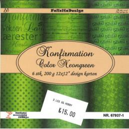 67937-1 Neongreen 13,5 x 13,5