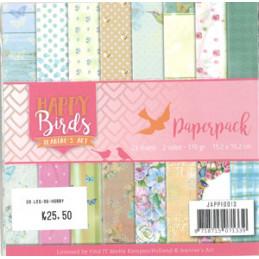 JAPP 10013 Happy Birds 15 x...