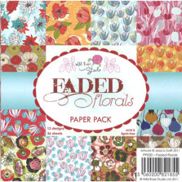 PP 020 Faded forals 15 x 15...