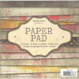 PPSL 03 Paper Pad 15 x 15 cm.