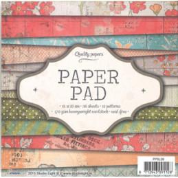 PPSL 09 Paper pad 15 x 15 cm.