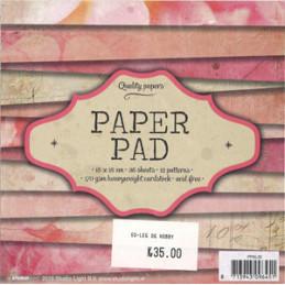 PPSL 35 Paper pad 15 x 15 cm.