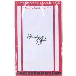 67087 Glædelig jul Danmore