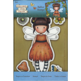 Gor 907165 Rubber stamps 5 stk