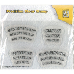APST 006  Clear stamp Nellie