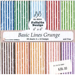 69324 Basic Lines Grunge