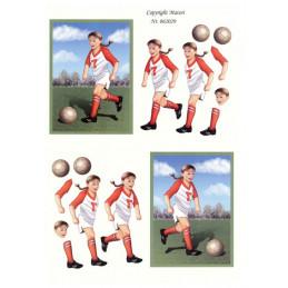 062029 - Fodbolds Pige