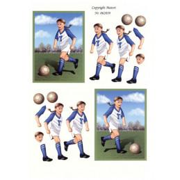 062039 - Fodbolds Pige