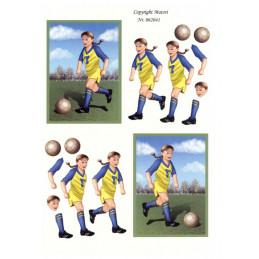 062041 - Fodbolds Pige